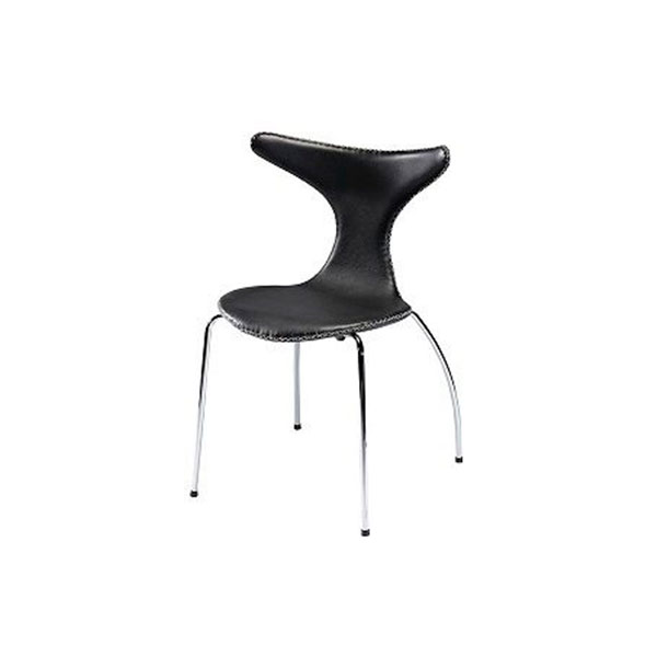A-DOLPHIN-chair-black-leather-w-Ps
