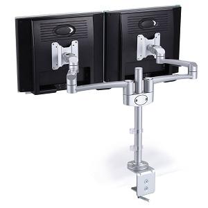 New Office Monitorarm til to skærme HOVEDBILLEDE